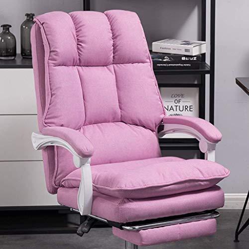MKXF Silla Boss, Silla giratoria reclinable para Oficina, Asiento cómodo para la Hora del Almuerzo