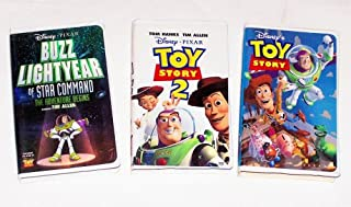 Disney Animated Collection #1 (3pk): Toy Story, Toy Story 2 and Buzz Lightyear of Star Command