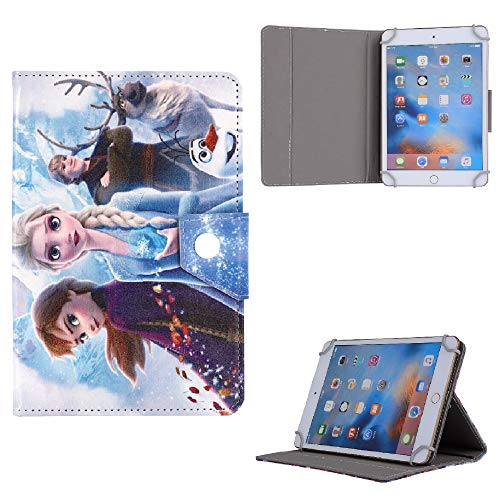 Frozen All Character Kids Tablet Cover ~ For Universal 7' 8' 9.7' 10' 10.1' Inch Case 7' 8' 9.7' 10' 10.1' (Universal 10' (10.1' Inch), Frozen Family 2 Heroes)