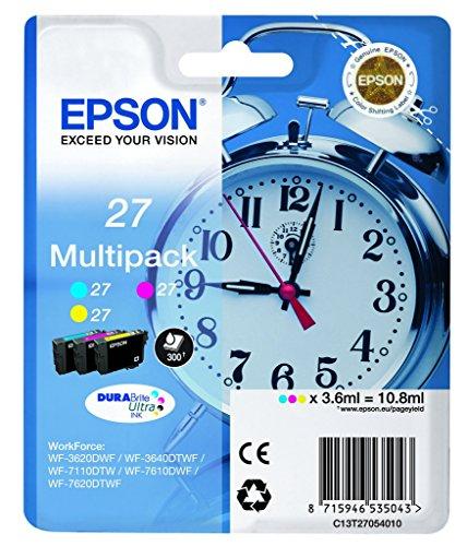 Epson C13T27054010 Tintenpatrone Blau, Rosa, Gelb
