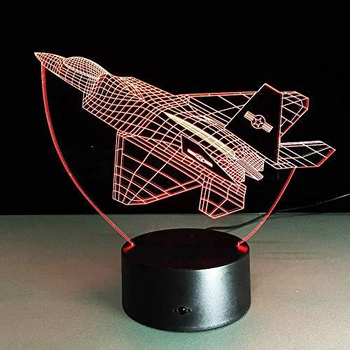 USB heeft de LED-wandlamp van acryl, nachtlampje, werkt op batterijen, voor kinderslaapkamers.
