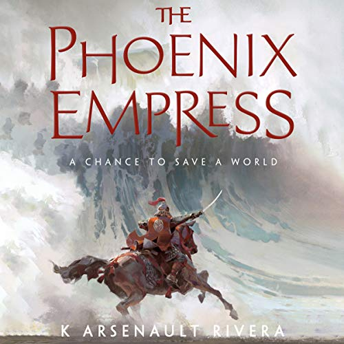 The Phoenix Empress audiobook cover art