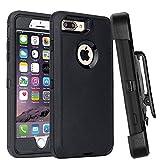 Best Iphone 6 Plus Belt Clip Cases - Casa Shockproof Case Compatible iPhone 7 Plus/8 Plus,Belt Review