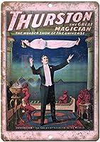 Thurston The Great Magician ティンサイン ポスター ン サイン プレート ブリキ看板 ホーム バーために