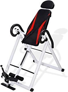 HAIPHAIK Adjustable Inversion Therapy Table - Used to Relieve Back Pain and Neck Pain Withstand 350LB Weight
