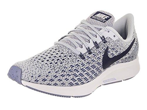 Nike Air Zoom Pegasus 35, Zapatillas de Running Unisex Adulto, Multicolor (Football Grey/Blue Void/White/Aluminum 005), 36.5 EU
