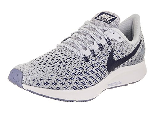 Nike Womens Air Zoom Pegasus 35 Running Shoes Football Grey/Aluminum/Blue 9.5 B(M) US