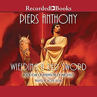 Wielding a Red Sword audiobook cover art