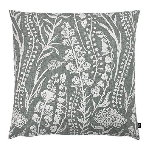 Ashley Wilde Turi Cushion Cover, Silver, 50 x 50cm