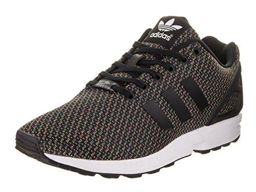 adidas Originals ZX Flux - Zapatillas de Deporte para Mujer, Color Negro, Color Negro, Talla 45 1/3 EU