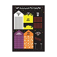 rosenice 20ピースハロウィングリーティングカード招待カード祝福カードギフトカードメッセージカード用キッズ子供ハロウィンパーティー用品