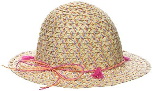 maximo Mädchen Hut, Quasten Mütze, Mehrfarbig (Wollweiss/Multicolor 3899), 55
