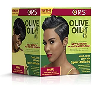 ORS Olive Oil Built-In Protection Normal New Growth No-Lye Hair Relaxer