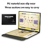 Tableau tactique d'entraînement de basket A-Nam - Magnétique - Effaçable - Avec marqueur/effaceur 2-en-1