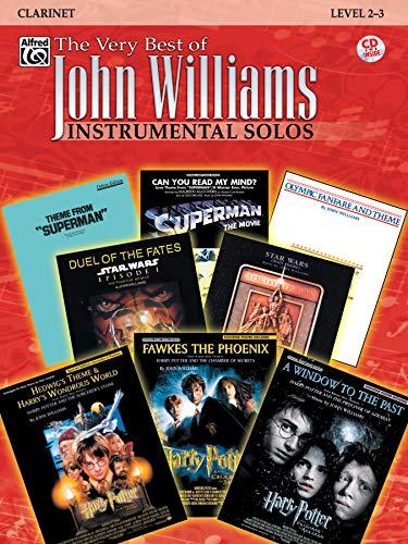 The Very Best of John Williams: Clarinet, Book & CD