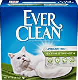 Ever Clean Extra Strength Cat Litter, Unscented, 14-Pound Box