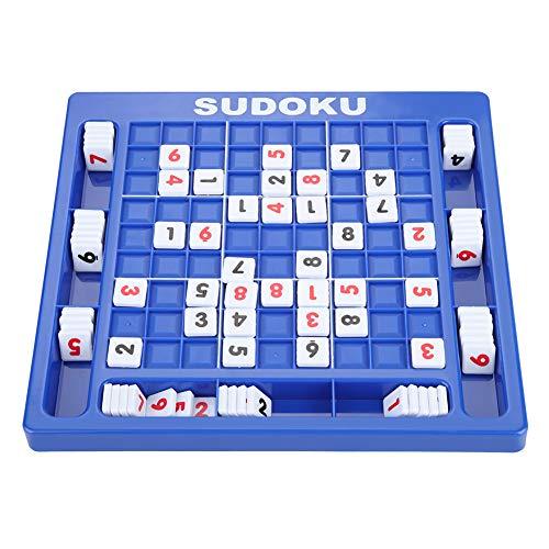 Akozon Sudoku aantal kubussen tafelspel Kinderen Educatief wiskunde Leunend puzzelspeelgoed voor kinderen Volwassenen