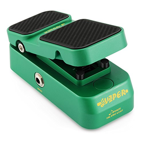 Donner 2 in 1 Viper Mini Passive Volume Expression Guitar Effect Pedal
