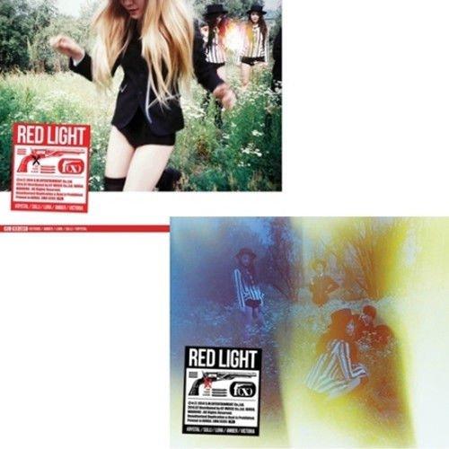 F(X) [RED LIGHT] VOL.3 3rd Album Random Ver. CD+Photobook+Card+Sticker FX K-POP SEALED