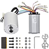BestEquip 2000W 60V Brushless Motor Kit 42A 4250RPM High Speed Electric Scooter Motor with Speed Controller Bicycle Motorcycle Mid Drive Motor