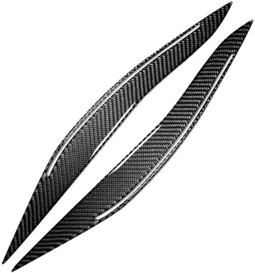 NASDIZL Auto///Frontscheinwerfer Augenbraue Fit f/ür BMW F10 F11 F18 5er 2011-2017