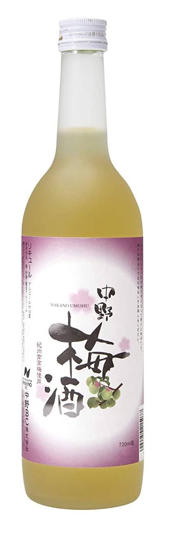 剃るネコ追い払う中野BC 中野梅酒 [ 720ml ]