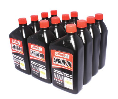 engine oils COMP Cams 1595-12 12 Quarts of 15W-50 Muscle Car and Street Rod Engine Oil