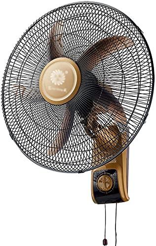 DUWEN Ventilador de Pared para el hogar, Ventilador de Pared de 18'Ventilador silencioso de la Pared de la Pared de la Pared de la Pared Ventilador Fresco con 3 velocidades para el Verano en la casa