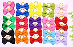 Yagopet 20pcs New Dog Hair Bows