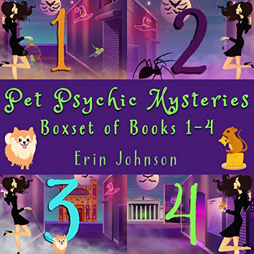 Pet Psychic Mysteries cover art