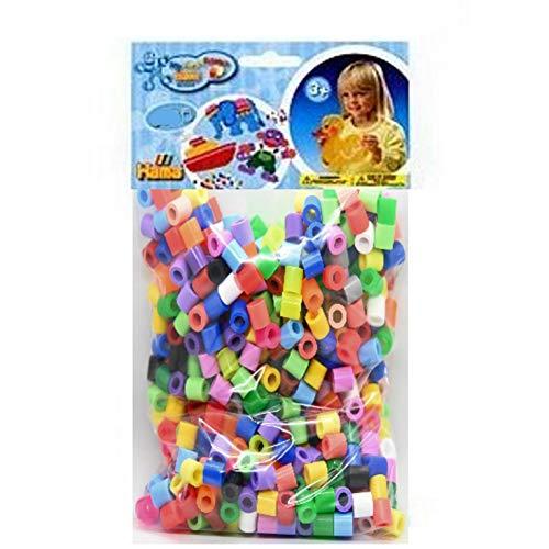 Hama Happy Price Toys Maxi M-22-800 Bügelperlen Beutel mit 800 STK Mix 74 ( alle 22 Farben)