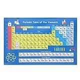 MASUNN Tavola periodica degli elementi Poster da parete 20X30Cm 40X60Cm Decorazioni per l'...