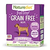 Naturediet Feel Good Grain Free Puppy Complete Wet Food 390g x 18