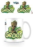 DC Universe Marvel Comics Guardians of The Galaxy Vol. 2 I Am Groot Ceramic Mug Kaffeetassen,...