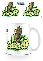 """Guardians Of The Galaxy Vol. 2 """"I Am Groot"""" 11oz/315 ml Kaffeetassen Offiziell lizenziert Fantastisches Geschenk Idee"""