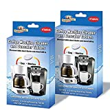 Parker & Bailey Coffee Machine Cleaner & Descaler Tablets - 2 Pack / (8 Total Tablets/8 Uses)