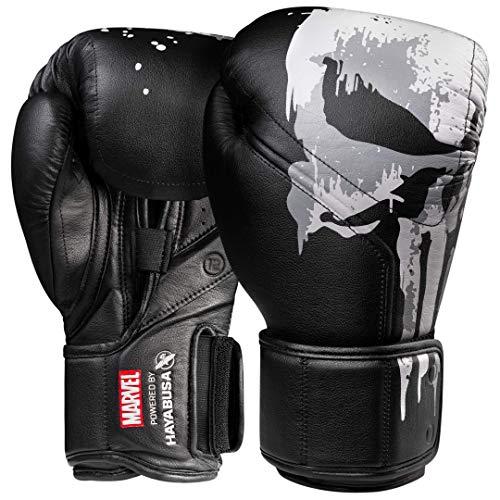 Hayabusa | Boxhandschuhe | Marvel Hero Elite Serie, Unisex, The Punisher, 454 g