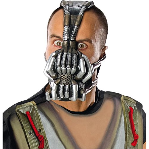 Rubie's Men's Batman dark knight rises, 3/4 bane mask, As Shown, One Size