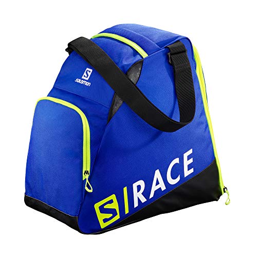 Salomon, Skischuh-Rucksack EXTEND GEARBAG, Blau (Race Blue)/Neongelb (Neon Yellow SCFL), LC1170000