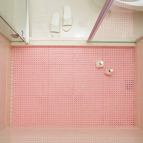 Best Buy! Bath mats antiscivolo Absorbent Floor Mat Stitching Shower Room Bathing Water Hollow Plast...