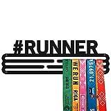 United Medals #Runner Colgador de medallas   Medallero Acero   Medal Holder dispaly Hanger   Medalla Percha Negra (30 medallas)
