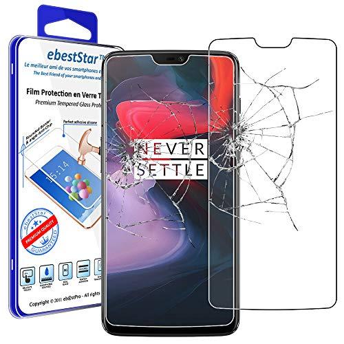 ebestStar - Cristal Templado Compatible con OnePlus OnePlus 6 Protector de Pantalla,...