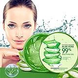Aloe Vera Gel 300ml Natürliche beruhigende und pflegende Feuchtigkeitscreme Bio...