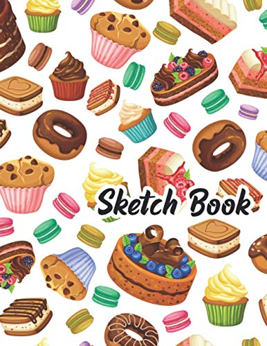 Sketch Book: Large birthday gifts exercise notepad for Drawing, Doodling, Painting, Writing, sketching Extra big size (8.5' x 11').drawing beginners ... Day Black Friday Cyber Monday kids adults