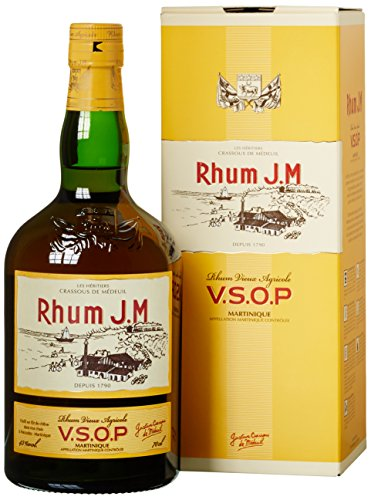 J.M Rhum Vieux Agricole VSOP mit Geschenkverpackung Rum (1 x 0.7 l)