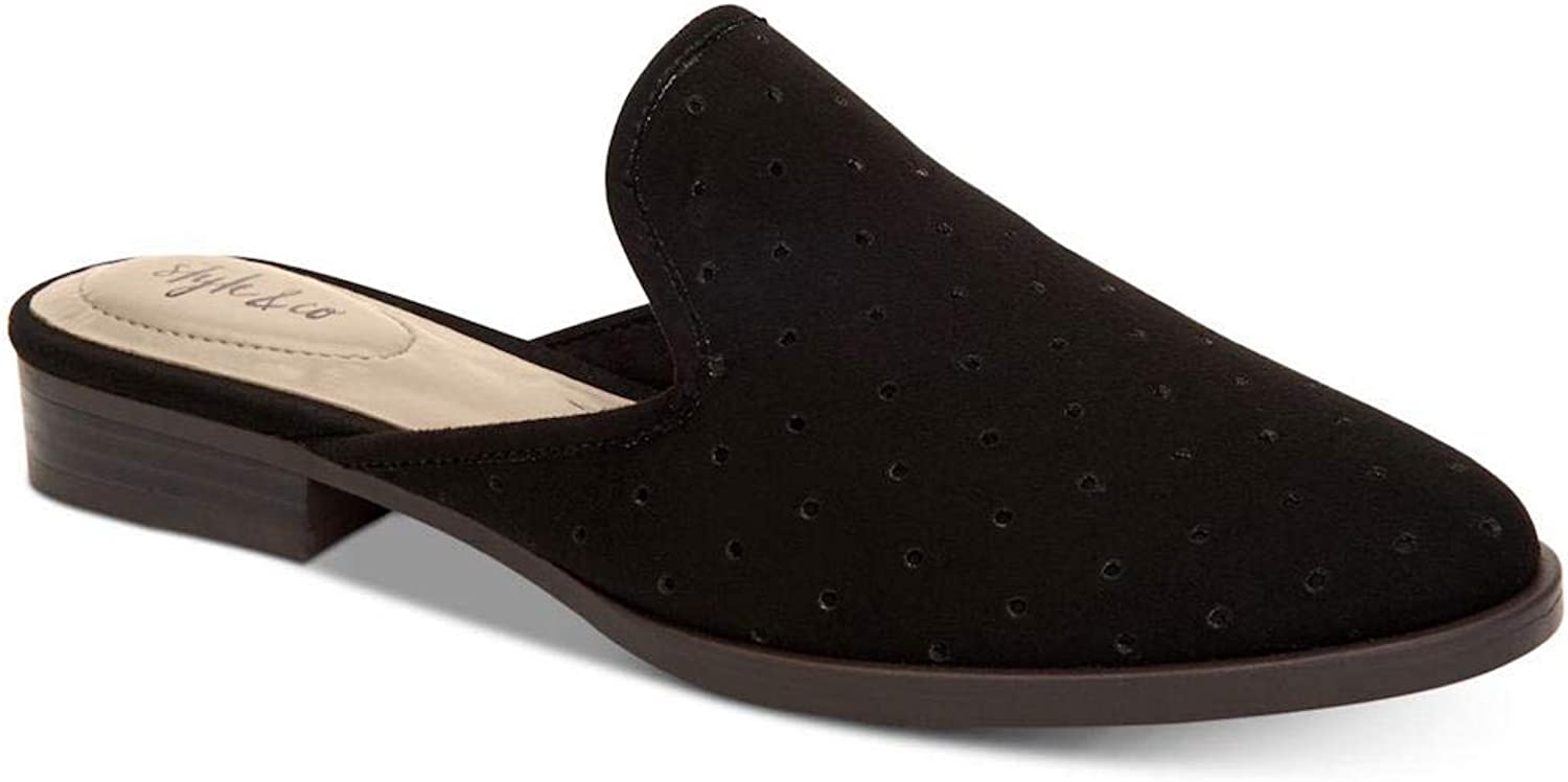 Style & Co. Womens Salina Closed Toe Mules