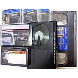 10本セット DVDダビング ビデオダビング VHS・VHS-C・ベータ・ミニDV・8ミリビデオ⇒DVDへ ダビングサービス アナログテープからDVDへダビングします。