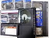 10本セット DVDダビング ビデオダビング VHS VHS-C ベータ ミニDV 8ミリビデオ⇒DVDへ ダビングサービス アナログテープからDVDへダビングします。