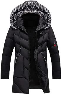 Men's Winter Warm Long Down Parka Coat Trench Zipper Jacket Outwear Overcoat