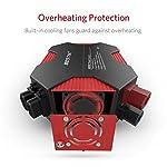 BESTEK 400W Power Inverter Car Charger DC 12V to AC 230V 240V Converter with UK Outlet Socket and 4 USB Ports Auto…